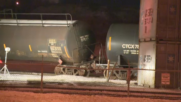 Propane tank derails in Beauharnois, CSX Transflo