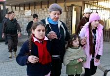 Russians evacuated from Syria