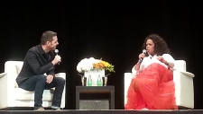George Stroumboulopoulos, Oprah Winfrey