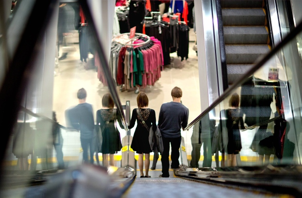 Retail sales in Canada up