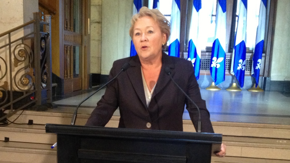 The cost of Pauline Marois's recent trip to Scotland could not be revealed Monday.