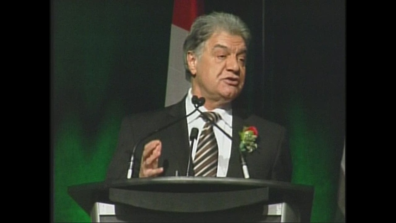 London Mayor Joe Fontana delivers his State of the City address in London, Ont. on Tuesday, Jan. 22, 2013.