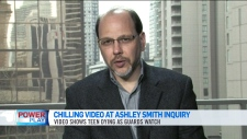 Jurors see Ashley Smith video