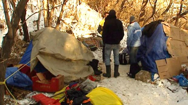 Edmonton homeless