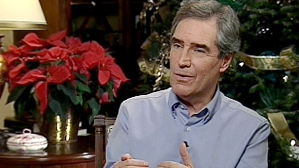 Liberal Leader Michael Ignatieff appears on CTV's Question Period in this undated photo.