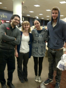 Miley Cyrus & Liam Hemsworth at Chapters