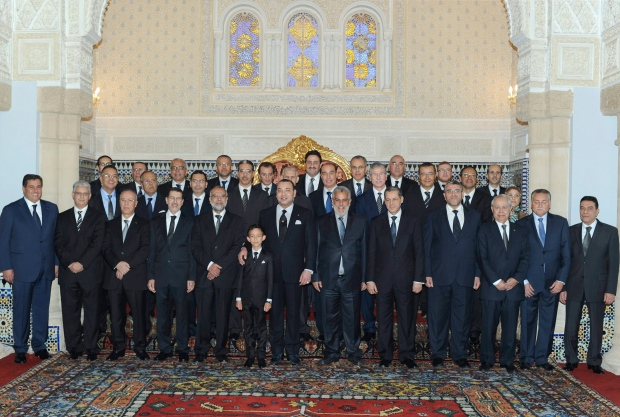 Morocco's new government on Jan. 3, 2012.