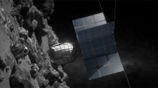 Space mining DragonFly Deep Space Industries