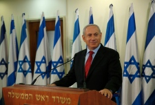 Israel's Banjamin Netanyahu on Jan. 23, 2013.