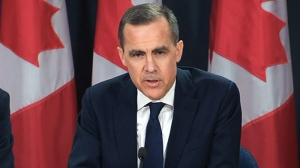 Carney delivers monetary report