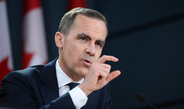 Mark Carney in Ottawa on Jan. 23, 2013.