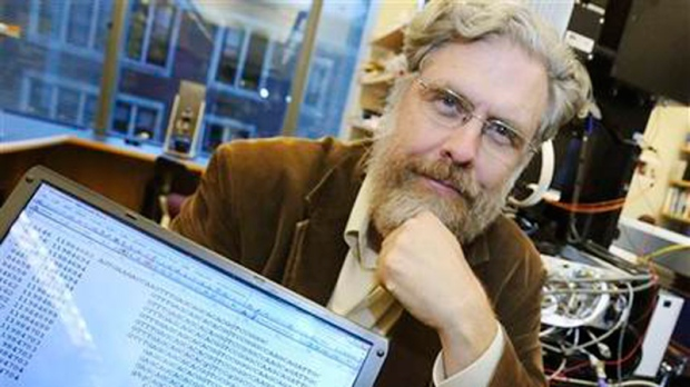 Harvard Medical School genetics prof George Church