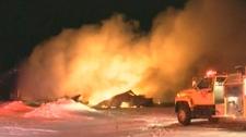 Otterburne fire