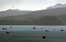 Strait of Hormuz on Jan. 19, 2012.