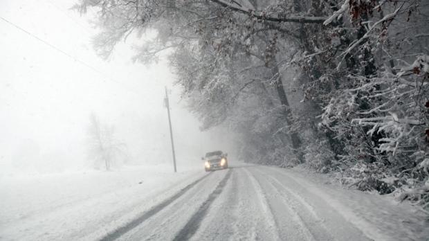 Teen clocked speeding on snowy roads: Police