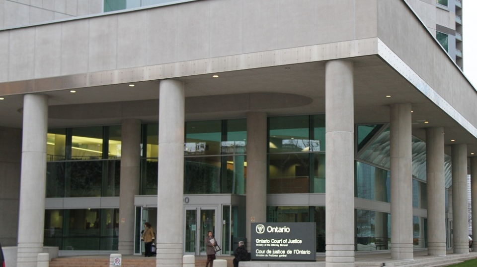 The Ontario Court of Justice in Windsor, Ont., Nov, 19, 2012. (Melanie Borrelli / CTV Windsor)