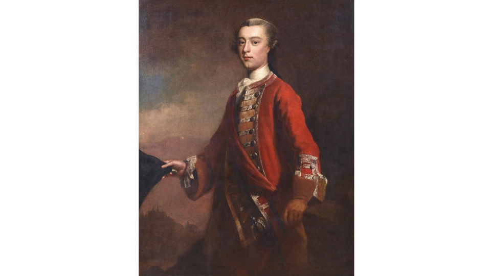 James Wolfe painting