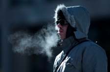 Cold temperatures in Ottawa