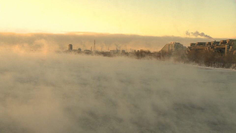 Residents of Montreal faced a high of -21 C  on Wednesday, Jan. 23, 2013.