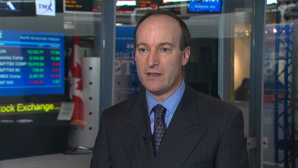 Bank of Montreal economist Doug Porter estimates that the interest rate will not rise until next year, from his office building in Toronto, Wednesday, Jan. 23, 2013.