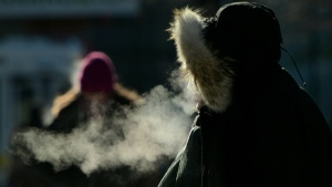 CTV National News: 'Bloody cold, eh?'