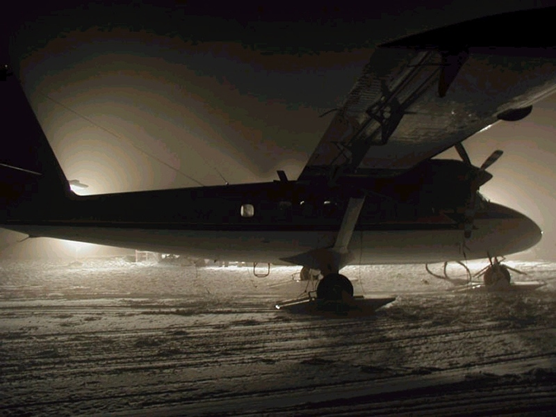 One of the Kenn Borek Air Twin Otters was able to land at the South Pole. But would it be able to depart?