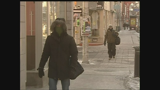 CTV Ottawa: Frostbite  windchill warnings in effe