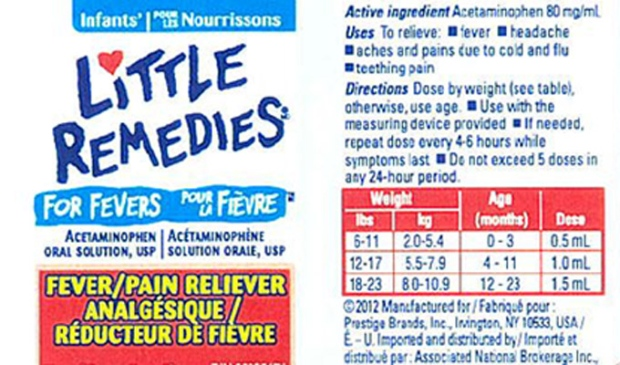Little Remedies for Fever recall