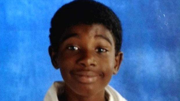 Nine-year-old Kesean Williams was fatally shot inside his family's townhouse on Ardglen Drive in Brampton on Wednesday, Jan. 23, 2013.