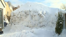 Sean Hillaby  snow fort