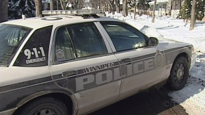 A Winnipeg Police cruiser