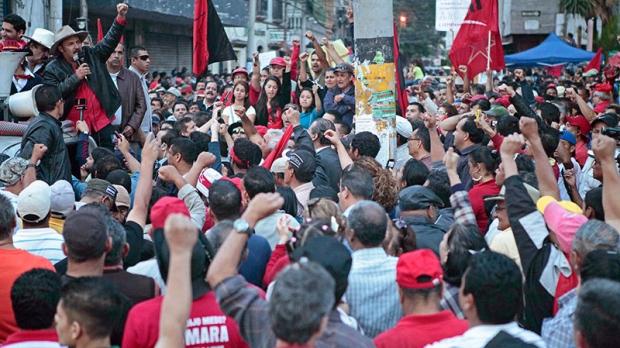 Honduras in chaos over spending