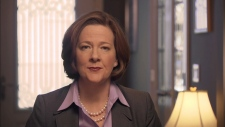 Alison Redford discusses plans for finances