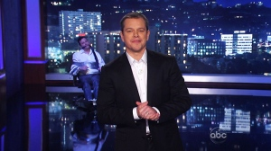 Canada AM: Damon hijacks Jimmy Kimmel show