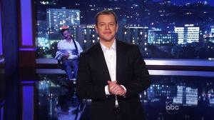 Canada AM: Damon hijacks Jimmy Kimmel show