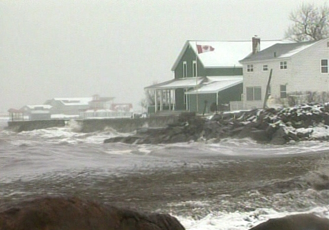 Atlantic Canadians are cleaning up after being pounded by the fourth storm in four weeks, Tuesday, Dec. 28, 2010.