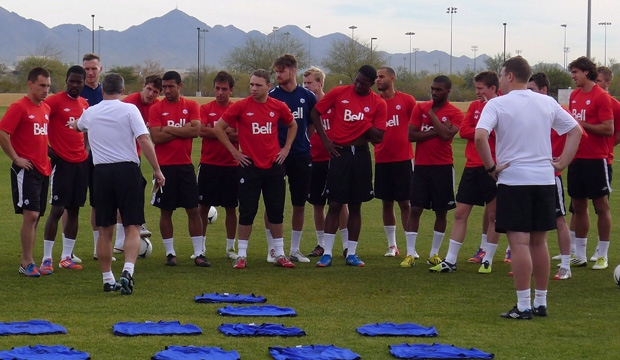 Canada, Soccer, Camp