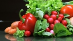 A new study suggests eating more fruits and vegetables for happiness.