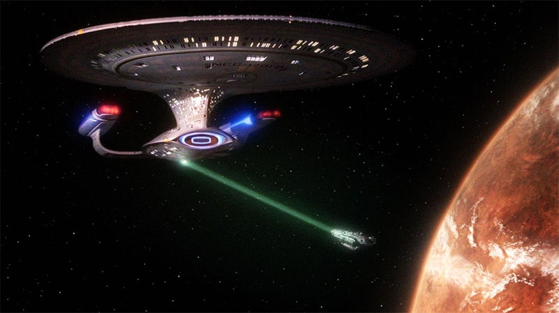 Real-life Star Trek tractor beam