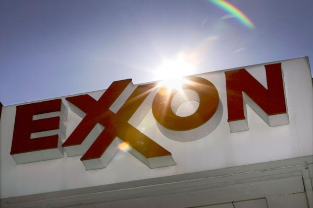 Exxon sign in Dallas, Oct. 2006