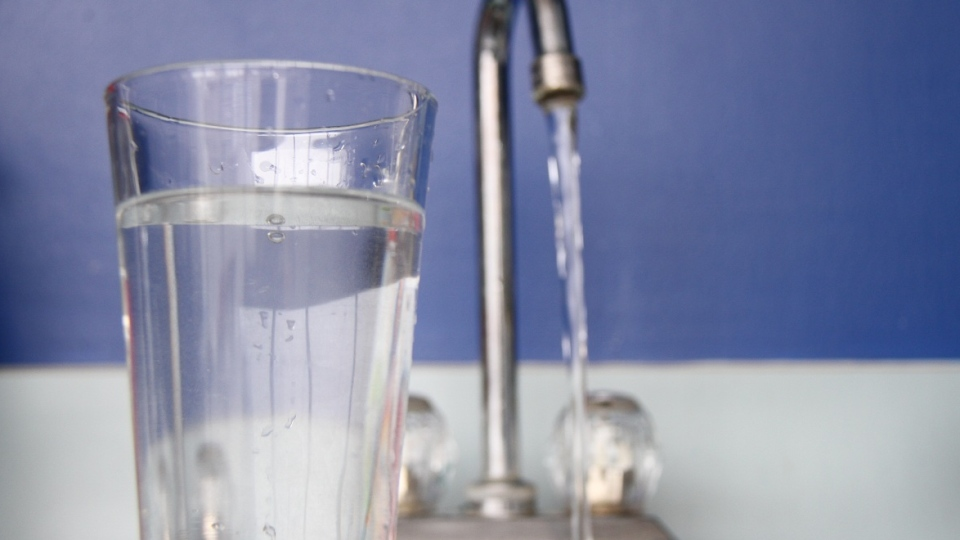 A glass of water is shown in this file photo in Windsor, Ont., on Jan. 29, 2013.