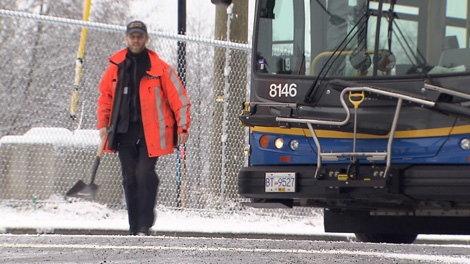 An overnight dump of snow clogged bus routes and roadways Wednesday, causing troubles for commuters and bus drivers in Metro Vancouver and the Fraser Valley.
