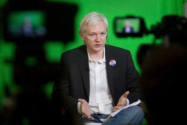 Assange says he has leaked copy of WikiLeaks film