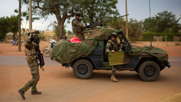 French troops in Mali Jan. 25, 2013