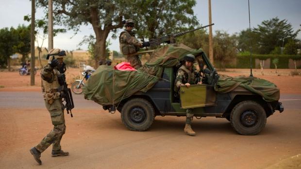 French troops in Mali Jan. 25, 2013