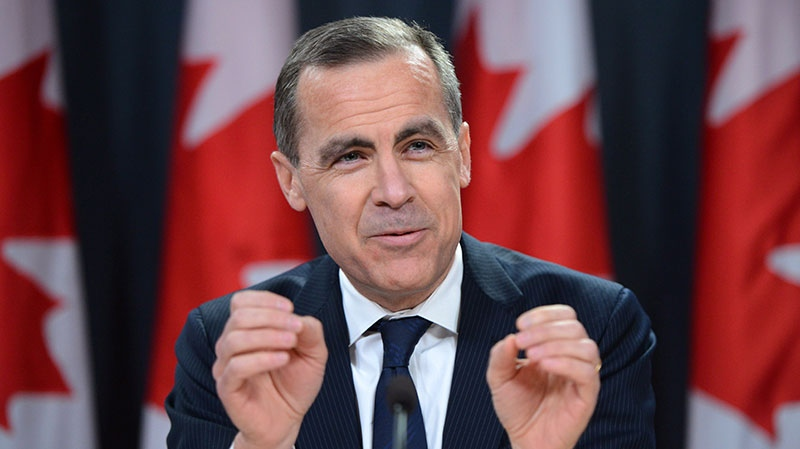 Bank of Canada Governor Mark Carney speaks during a press conference at the National Press Theatre in Ottawa on Wednesday, Jan. 23, 2013. (Sean Kilpatrick / THE CANADIAN PRESS)