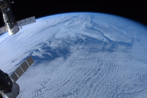 Chris Hadfield view from space