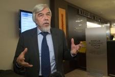 Rolf-Dieter Heuer at the World Economic Forum