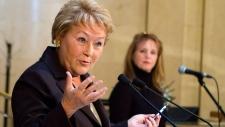 Quebec Premier Pauline Marois