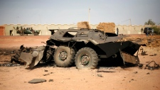 French, Malian forces regain control